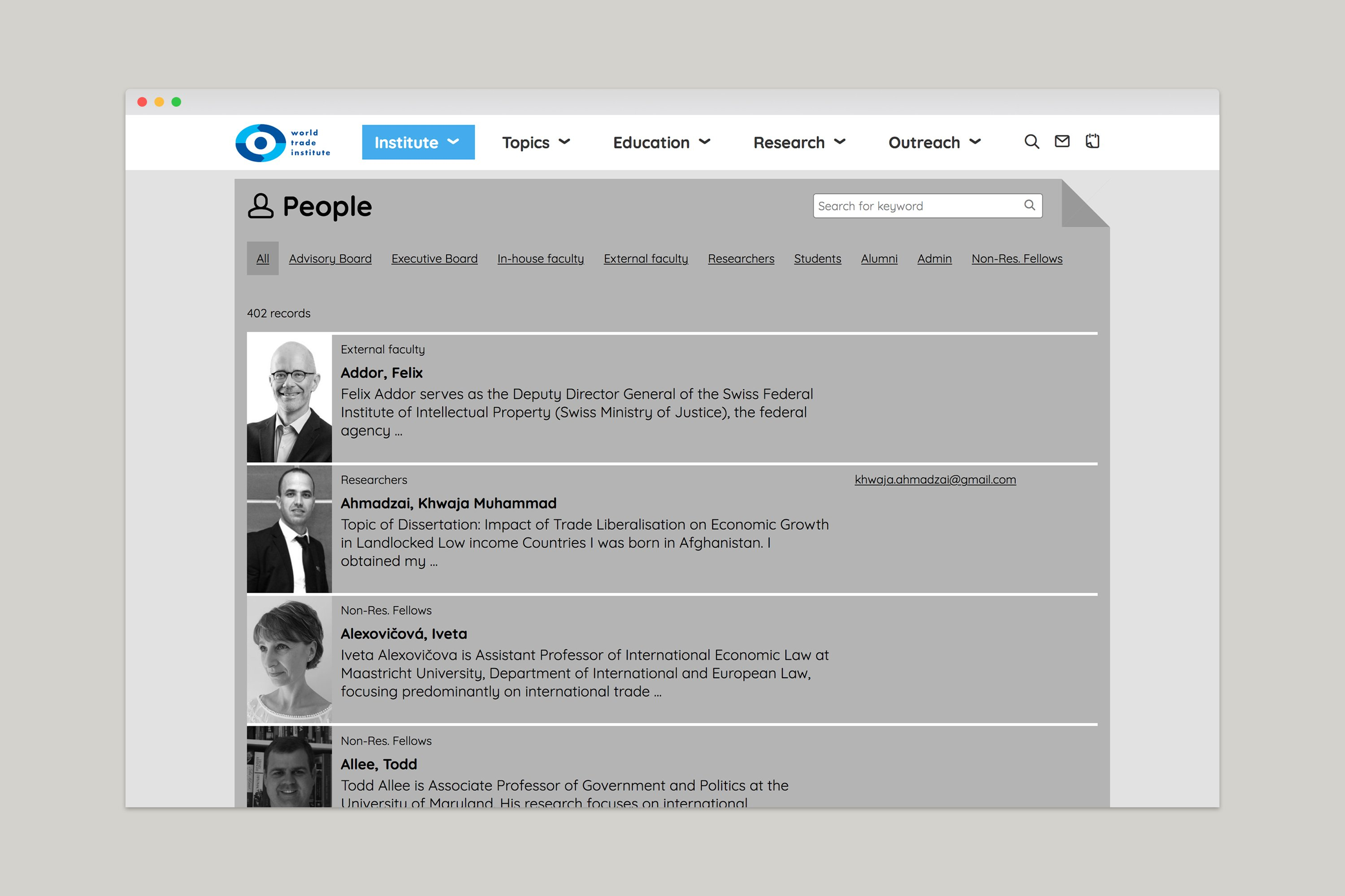 kong interaktion website world trade institute bern 2015